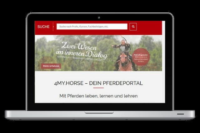 Das Kurs- und Wissensportal für Pferdemenschen, die Wert auf einen achtsamen Umgang mit dem Pferd legen.