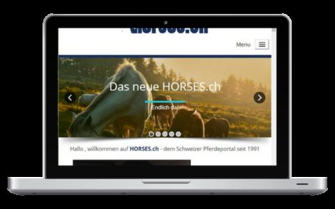 Horses.ch - das Schweizer Pferdeportal seit 1991